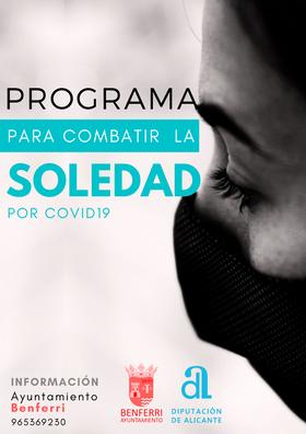 PROGRAMA PARA COMBATIR LA SOLEDAD POR COVID-19