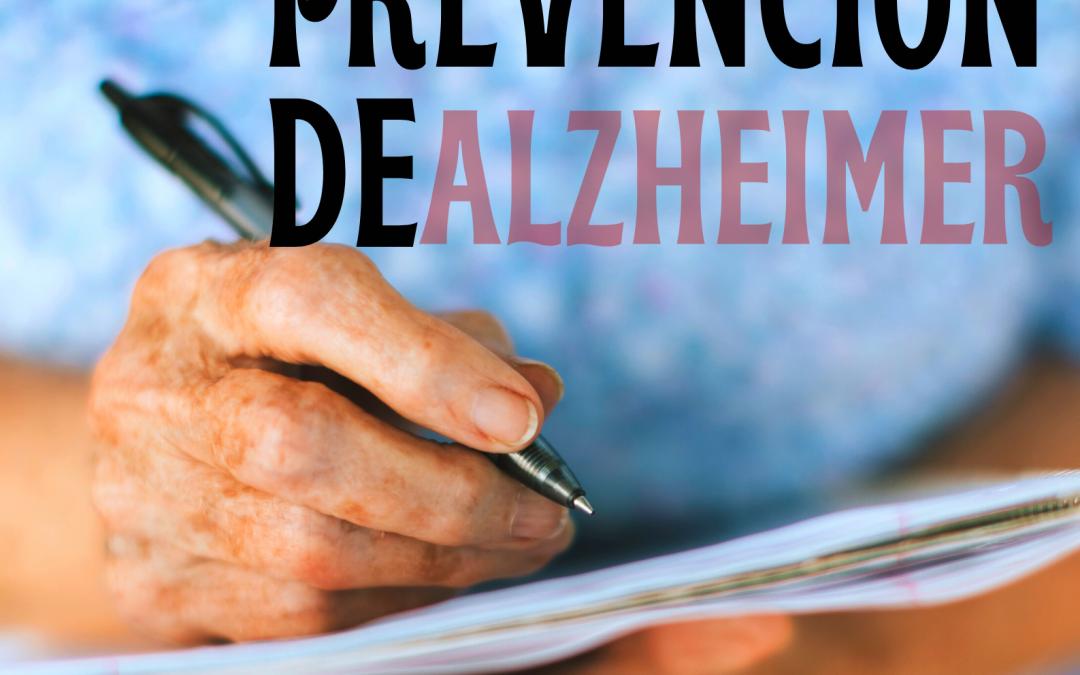 PROGRAMA PREVENCIÓN DEL ALZHEIMER